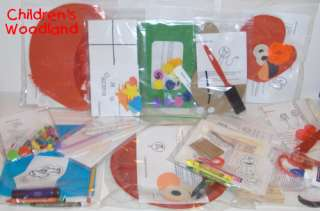 12 KITS ELMO ARTS & CRAFTS KID~SESAME STREET~PRESCHOOL