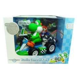 Super Mario Brothers 18 Scale Remote Control Yoshi Kart Toy