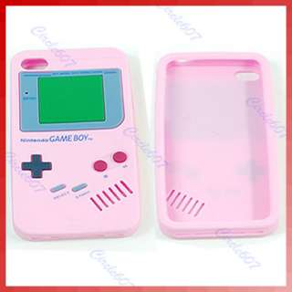 Silicone Case Cover Protector Game Boy For Apple iPhone 4 4G 4S