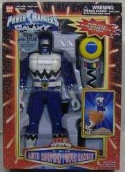 Power Rangers Lost Galaxy 10 Automorphing Blue Ranger w/Remote