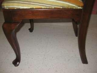 Georgian Court elegant Cherry Queen Anne Side Chair 11 6211