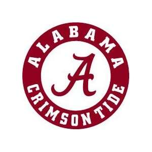 Alabama Crimson Tide NCAA FB Vinyl Decal Stickers / 8 X 8