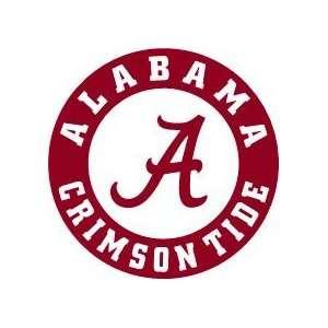 Alabama Crimson Tide NCAA FB Vinyl Decal Stickers / 8 X 8