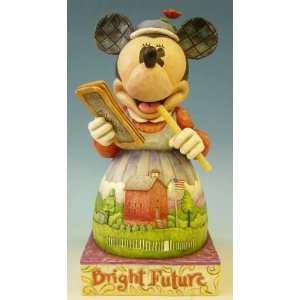 Jim Shore Disney Traditions   Minnie Mouse Bright Future