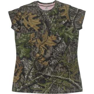 Mossy Oak Obsession Womens Short Sleeved Camo Tee Hunting