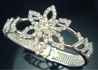 Wholesale Fashion 12Pcs Mixed Style Crystal Rhinestone Bracelets