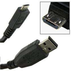 Premium BlackBerry Torch 9800 USB Computer Charger Cable (OEM