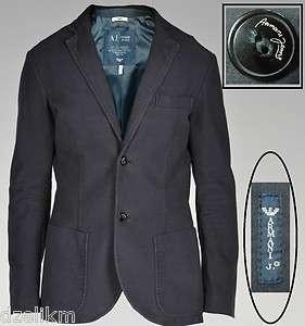Black (Dark Navy) Cotton Blazer Jacket $345   Original Price