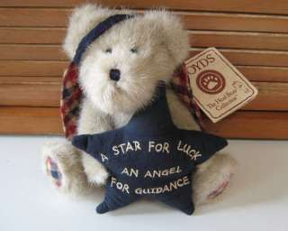 Boyds Little Guardian Angel Bear     Angelstar