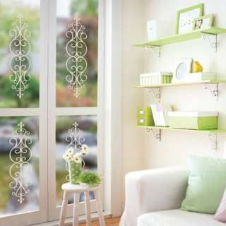 Window Frames Adhesive WALL DECOR REMOVABLE STICKER