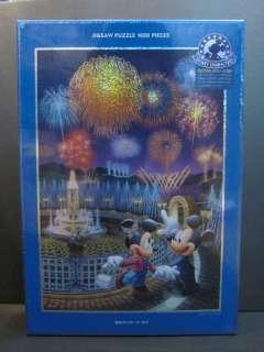 Disney Mickey & Minnie Hologram Jigsaw Puzzle 1000pc