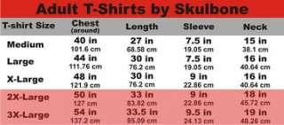 SKULBONE ADULT T Shirt metal gothic biker cool M/L/XL