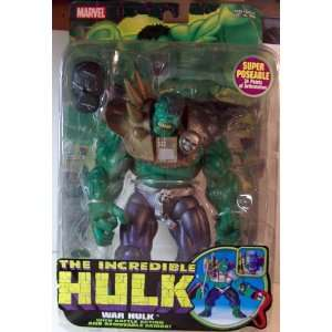 Hulk WAR HULK with Battle Action and Removeable Armor Toys & Games