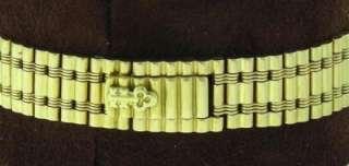 Authentic Ladies Corum Romvlvs 18K Gold Diamond Quartz 24mm Watch