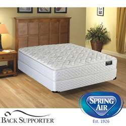 Spring Air Alpine Plush Value Back Supporter Queen size Mattress Set