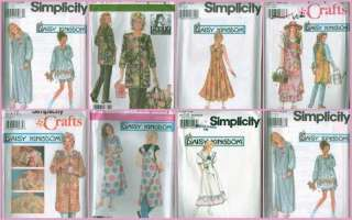 Simplicity Daisy Kingdom Misses & Women Clothes Sewing Pattern