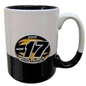Matt Kenseth 15 oz 2 Tone Mug   NASCAR NASCAR Fan Shop