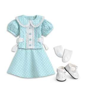 American Girl Molly  Mollys Polka Dot Outfit Toys