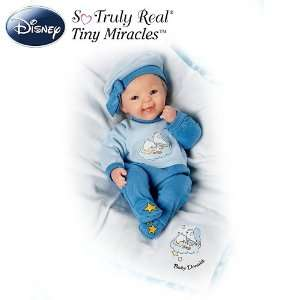 Bright Eyed Baby Donald Doll Lifelike Baby Doll With Baby
