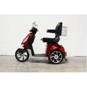 36 Electric Mobility Scooter Frame Color Red Health