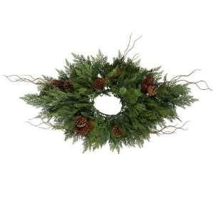 ft. Christmas Centerpiece   High Definition PE Needles   Cedar Pine