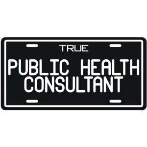 New  True Public Health Consultant  License Plate