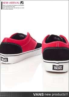 BN VANS Atwood Black / Red Shoes #V283