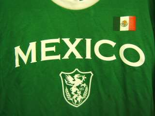 Unitas Mexico soccer t shirt Fifth Sun Mens M green New