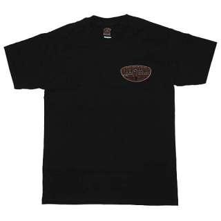 New Lucky 13 Punk Hot Rod Sedan Mens Black T Shirt 3XL