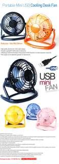 New Portable Mini Super Mute PC USB Cooler Cooling Desk Fan
