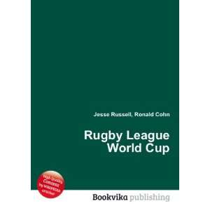 Rugby League World Cup Ronald Cohn Jesse Russell Books