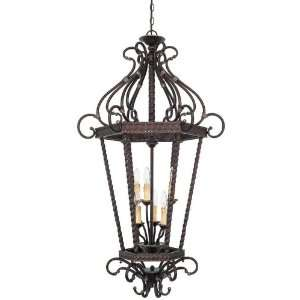 Savoy House 3 8618 6 59 Kensley 6 Light Foyer Lantern in