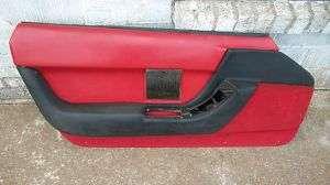 1990 thru 1993 C4 Corvette Left Drivers Door Panel