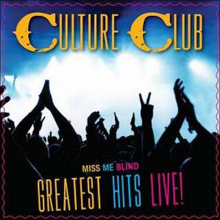 Miss Me Blind Greatest Hits Live, Culture Club Pop
