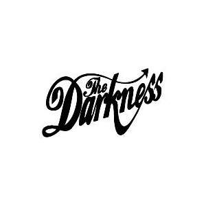 THE DARKNESS BAND WHITE LOGO VINYL DECAL STICKER