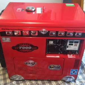 Diesel Powered Generator, 418CC Engine, RETAIL PRICE $6950