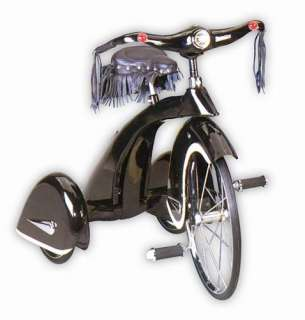 New Retro Road Hog Kids Toy Tricycle   Black & Chrome