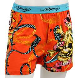 Ed Hardy Mens Death or Glory Knit Boxers