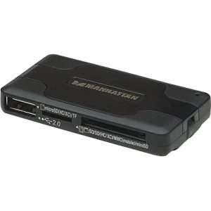 New   Manhattan 100984 42 in 1 USB 2.0 Flash Card Reader