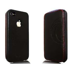 iPhone 4S/ 4 Novoskins iStyle Premium Leather Flip Case