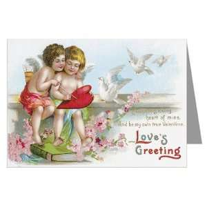 in Love Valentines Day Greeting Card   10x13 inch