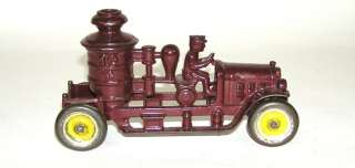 Kenton Cast Iron Fire Pumper Truck – Nice  (DP)