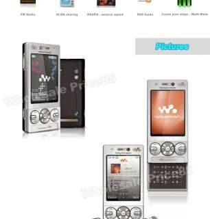 Unlocked Sony Ericsson W705 W705i GSM Mobile Cell Phone