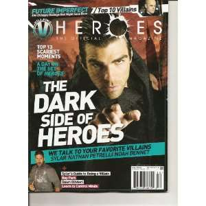 Heroes The Official Magazine Newstand Cover Issue #12 Zoe