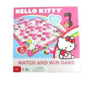Board Game   Sanrio   Hello Kitty Match & Win Game