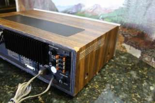 Vintage FISHER Stereo Receiver RS 1015 S#16503 Works Perfect!