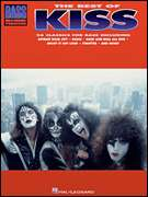 The Best Of Kiss For Bass Guitar Tab Book NEW