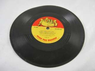 Peter Pan Records Little Lamb/Twinkle/Lullaby 78RPM 102