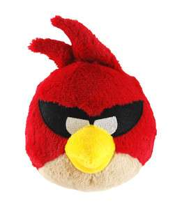 Angry Birds Space 5 Plush With Sound Super Red Bird *New*