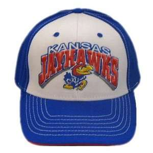 KANSAS JAYHAWKS OFFICIAL NCAA LOGO WOOL HAT CAP